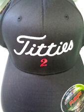 Titties 2 Hat - Free Ship - Golf Parody Cap Options: Flexfit, Snapback, Trucker