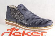 RIEKER ballerines pour Femmes Chaussures basses Escarpins bleu N0356 RV NEUF