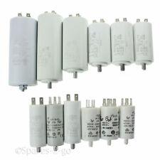 Universal Microfarad Start Run Motor Capacitors MFD 1.5UF - 80UF Spade Capacitor