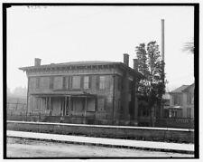 Photo of Jefferson Davis residence Montgomery Ala 1905 Detriot Publishing co.