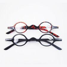 Agstum Designer Small round Oval Vintage Reading Glasses Eyeglasses CE +1 +2 +