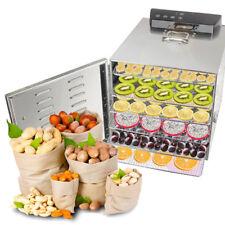 110v-220V Food Dehydrator Fruit Vegetable Meat Drying Machine Snack Dryer trays