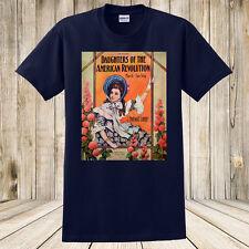 Brand New Daughters of the American Revolution 1909 Sheet Music T-Shirt Custom