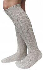 Lange Trachtensocken Meliert Oktoberfest Bayrisch Socken Strümpfe Kniestrümpfe