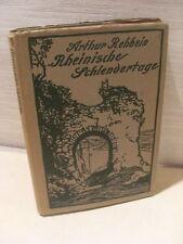 Ilusorio schlendertage, Arthur rehbein, 1919
