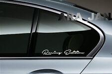 Racing Edition Decal Sport sticker car logo window emblem motorsport performance