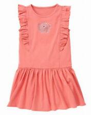 Gymboree friendship camp peach dress size 10 NWT