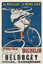 PLAQUE ALU DECO AFFICHE LE MEILLEUR LE MOINS CHER VELO CYCLES BELORCEY VANDENESS
