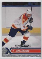 2000-01 Topps Stadium Club #226 Igor Larionov Florida Panthers Hockey Card