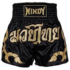 Windy Muay Thai Shorts - Black & Gold