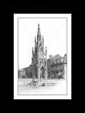 Burton Memorial, Daventry, Northamptonshire Mounted Print of original postcard
