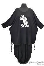 LAGENLOOK Tunika Shirt Kasten-Shirt Oversize 46 48 50 52 54 56 58 L-XL-XXL-XXXL