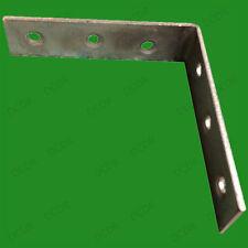 2x 75mm L Parenthèses, angle droit, résistant SUPPORT D'Etagère joist