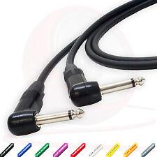 Van Damme Flexible Guitar Cable. Neutrik Angled 1/4 inch Mono Cable 3m, 5m Patch
