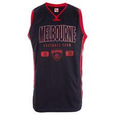 Melbourne Demons AFL Footy Mens Basketball Jersey Singlet