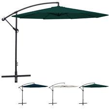3.5m Cantilever Outdoor Umbrella Garden Patio Market Sunshade Multi Colours