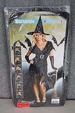 Dreamgirl Hocus Pocus Versitile 6 IN 1  Women's Halloween Costume F5235