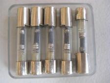 5X Littelfuse Fuse N 333 6/10 1/4 2/10 3/10 4/10 1/2 or 7/10 Bussman NOS SLo-Blo