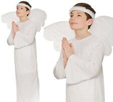 Garçon Fille Ange Noël Ecole Jeu Nativité Costume Déguisement Halo Déguisement
