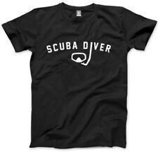 Scuba Diver T-Shirt - Diving Shirt Mens Unisex T-Shirt