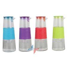 Glass Carafe 1 L Water Jug  Fruit Bottle Decanter Jug Carafe - Fruit Diffuser