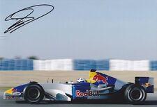 David Coulthard signed 12x8 Image F photo  UACC Registered dealer COA