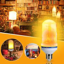 Flame Bulb 6W Lamp 99 LED Fire Burning B22 Effect Decorative Light E27 Flicker