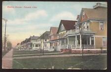 Postcard Newark OH Hudson Ave Houses/Homes view 1907?