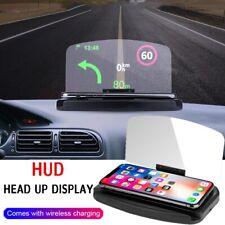 HUD Head Up Display Car SUV Phone Holder GPS Projector Universal Apple Samsung
