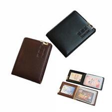 Fashion Men Driving License Case Wallet ID Card Credit Holder Bifold Purse