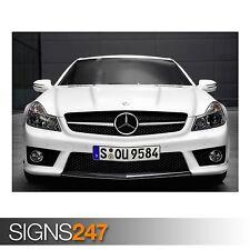 MERCEDES Benz 21 (AC710) POSTER AUTO-Foto immagine stampa poster art A0 a A4