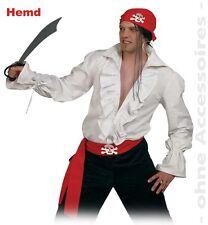 Piratenhemd M XL 3XL 2.Wahl Rüschenhemd weiß Mittelalterhemd Pirat LARP 12260513