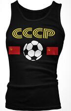 CCCP Country Flag Soccer Football Soviet Union Republic  Boy Beater Tank Top