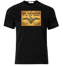 My Gun Permit  - Graphic Cotton T Shirt Short & Long Sleeve