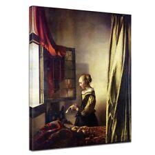 Kunstdruck - Alte Meister - Jan Vermeer - Briefleserin am offenen Fenster