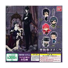 *Official* Black Butler Kuroshitsuji Figurine Key Chain Ciel Lau (Gashapon)