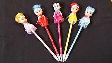 Character pen, Ballpoint Pen, Toy Pan, Birthday present Gift , Stationary pen,