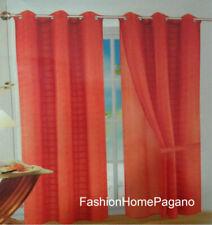 Pannello tenda con borchie doppio telo mis 140x280 cm disegno fresh