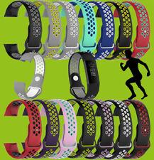 Hochwertiges Kunststoff / Silikon Uhr Armband für Fitbit Charge 3 / Versa 2 Neu