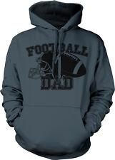 Football Dad Helmet Team Supporter Son Kid Child Field Touchdown Hoodie Pullover