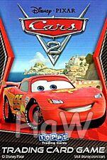 Topps CARS 2 Trading Cards dt. Ausgabe - Disney Pixar Der Film - versch. Pakete