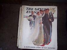 SATURDAY POST GLENCANNON  WEDDING  GUY GILPATRIC JUNE 5 1937