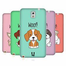 Funda HEAD CASE DESIGNS CON Gel Suave Cachorros feliz para teléfonos Samsung 2
