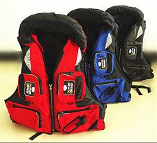 Professional Adult Life Jacket Buoyancy Aid Sailing Fishing Kayak Vest Preserver