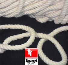 Naturelle 100% Coton Tordue Corde Rayure pêcheurs ficelle Acrobatie corde