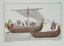 Angeln Sachsen Drachenschiff Germanen Segelschiff Anker Bug Langschiff England