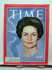 Aug 28, 1964- TIME Magazine- Lady Bird Johnson VG