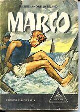 SIGNE DE PISTE N°156 - MARCO - Pierre-André Bernard 1962 - SCOUTS - JOUBERT b