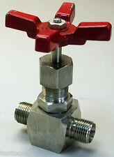 Hoke 2100 Series Screwed Bonnet Needle Valves 3/8 Gyrolok Inlet & Outlet 2112G6Y