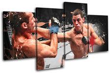 MMA Nate Diaz  Sports MULTI TOILE murale ART Photo Print